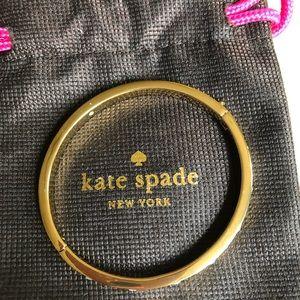 Kate Spade gold & Crystal bracelet.